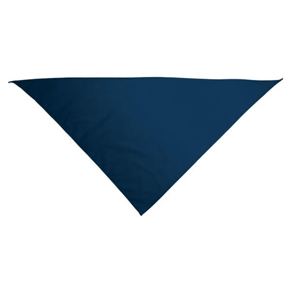 Foulard triangulaire.
