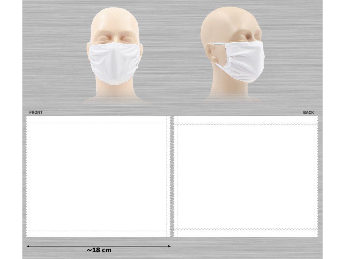 Masque blanc aux normes DGA 30 lavages Certifié Catégorie 1
