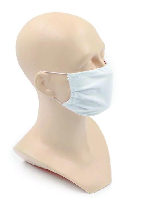 Masque blanc aux normes DGA 30 lavages Certifié Catégorie 1  personnalisé montpellier Paris Ile de France