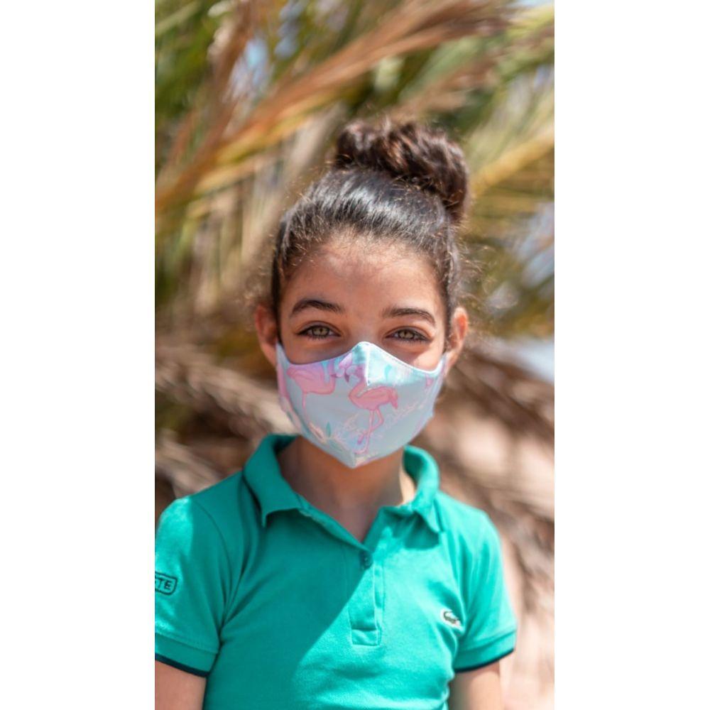 Masque enfant UNS1 personnalisé all over 20 lavages COVID19 AZAP  Objets publicitaires personnalisé par Azap articles promotionnels Cadeau d'affaire