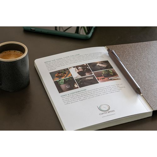 Calepin de marc de café