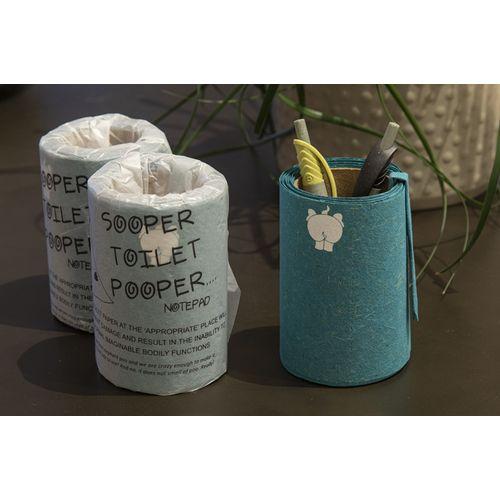 Rouleau de papier - réalisé à partir d'excréments d'éléphant
