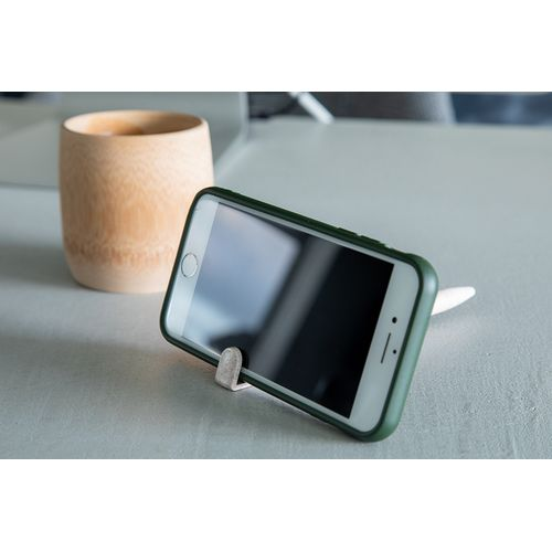 Stylo avec porte-téléphone portable - réalisé en paille de blé
