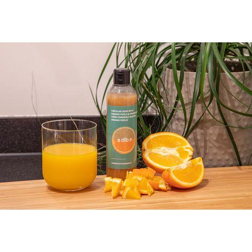 LiquidSOOP savon organique – pelures d'orange