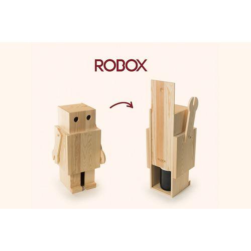 Rackpack Robox- – Coffret cadeau à vin ET ROBOX en un produit !