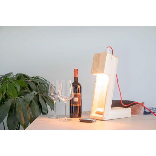 Rackpack WineLight– coffret cadeau à vin ET lampe en un produit !