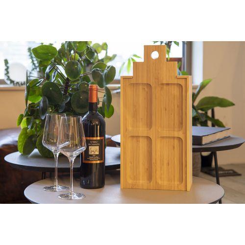 Coffret à vin et plateau en un seul grand modèle