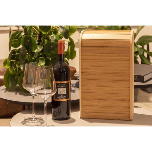 Coffret à vin et plateau/boîte de rangement flexible - rock 'n roller