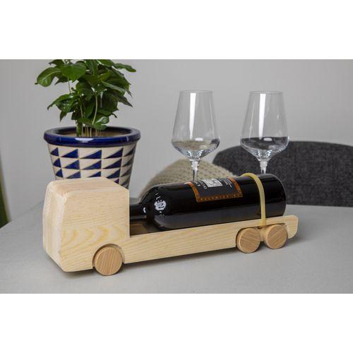 Coffret à vin et camion en un seul modèle