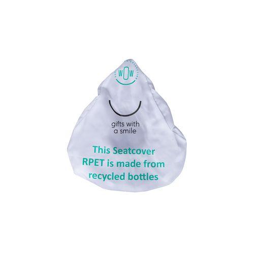 Housse de selle (2 pièces) -fabriquées avec des bouteilles PET recyclées
