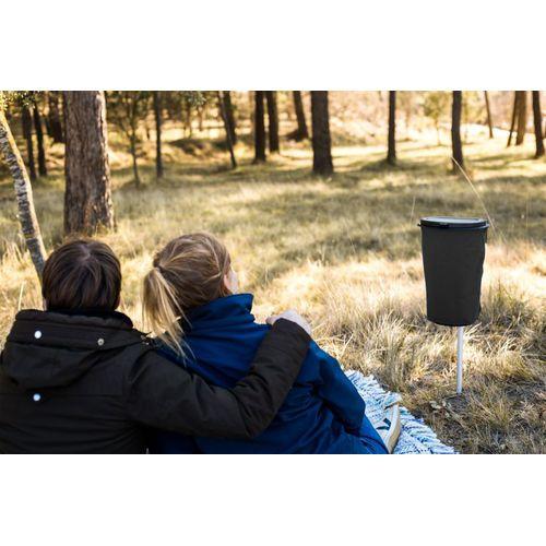 Flextrash - 9 L camping gris