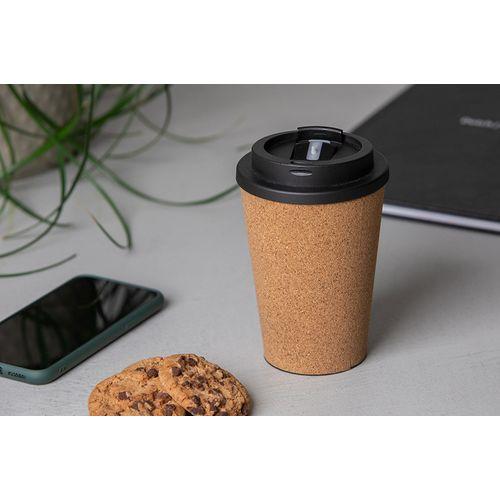 Tasse à café en maïs et en liège