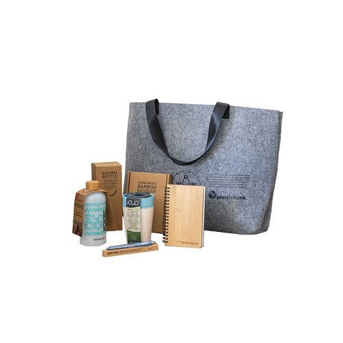 Le sac est complètement rempli de beaux articles durables  AZAP  Objets publicitaires personnalisé par Azap articles promotionnels Cadeau d'affaire
