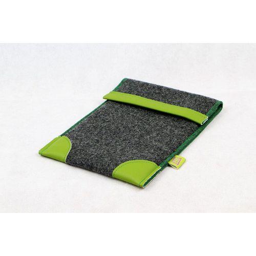 Housse pour tablette fabriquée avec du tissu invendu