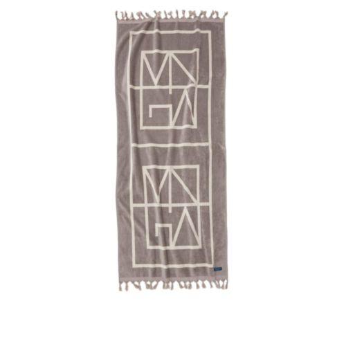Monogram kylpypyyhe
