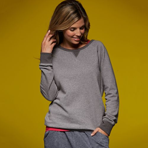 Sweat-shirt french terry femme