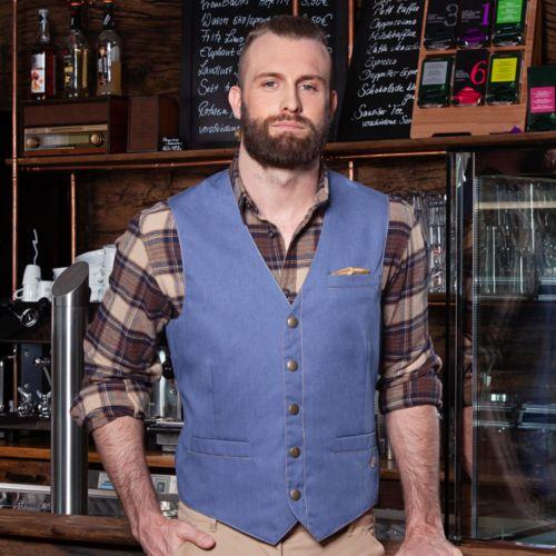 Gilet Jeans-Style pour hommes
