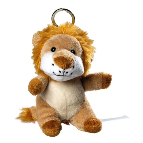 Lion de peluche avec porte-clé
