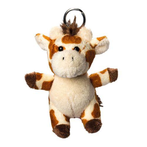 Girafe de peluche avec porte-clé