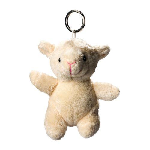 Mouton de peluche avec porte-cle