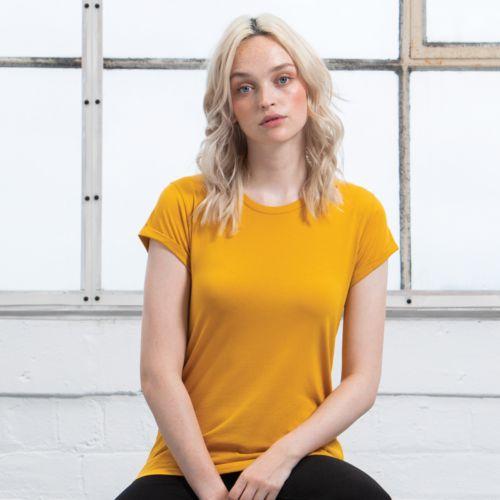 Women's Roll Sleeve T