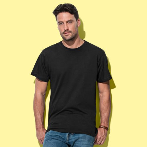 Tee-shirt col rond pour hommes