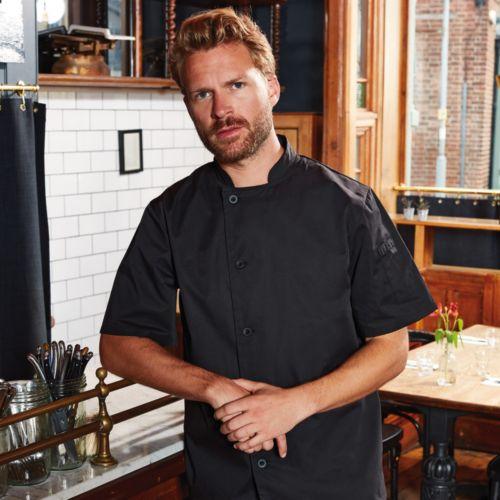 Essential' Veste de Chef Manches Courtes