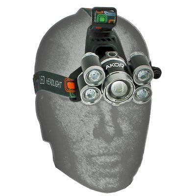 Multi lampe frontale