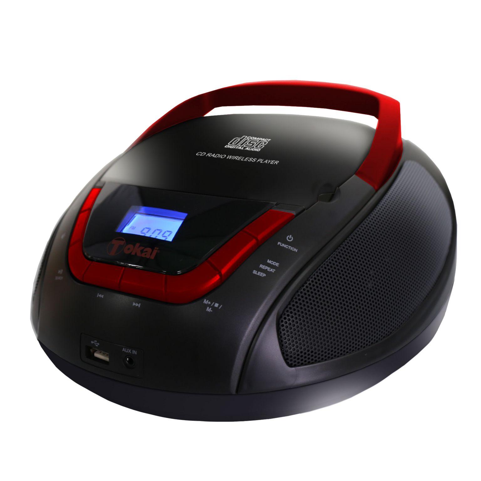 CD BOOMBOX BT, USB, AUX ET FM