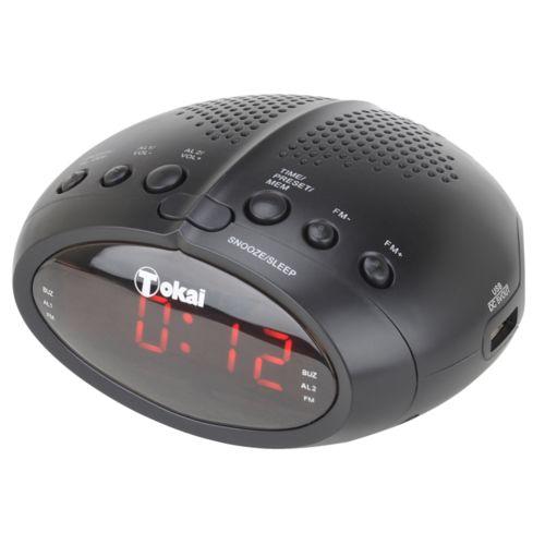 RADIO-REVEIL FM ET USB DE CHARGE