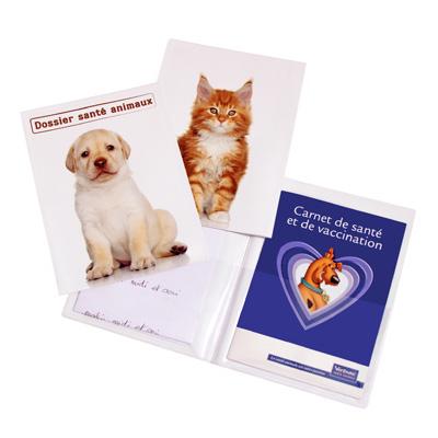 Porte carnet de santé animal