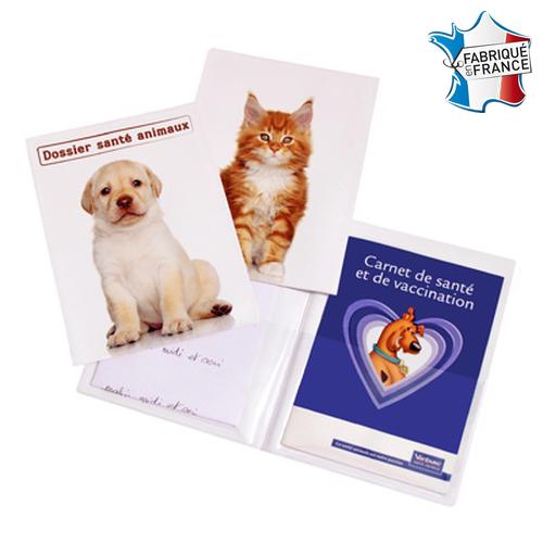 Porte carnet de santé animal - Impression Numérique