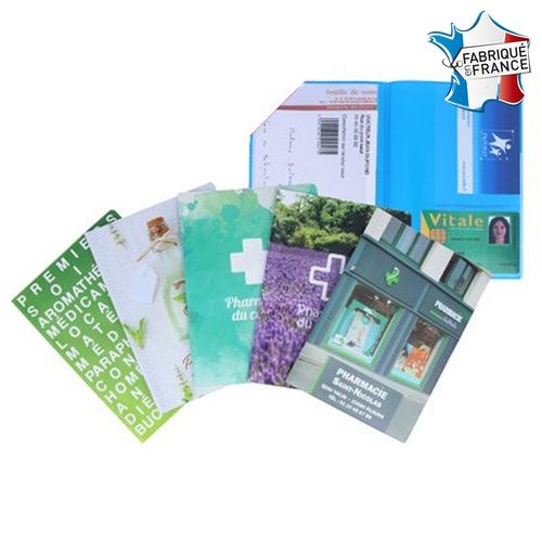 Garde-ordonnances portefeuille 1 carte - Impression Numérique