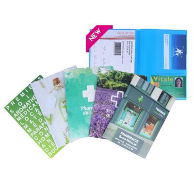 Garde-ordonnances portefeuille 1 carte