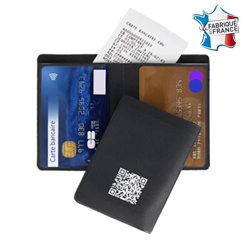Etui 2 cartes avec poche facturette – Impression numérique