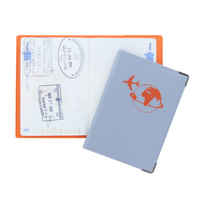 Protège passeport cousu