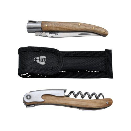 Coffret Laguiole 'Duo' (couteau et sommelier)