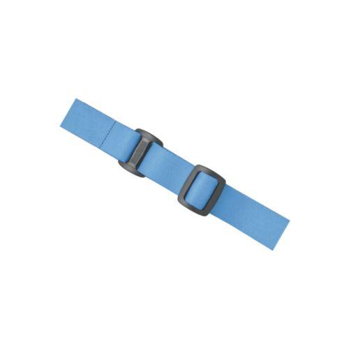 Bandeau 2,5 cm pour lampes frontales 3W 'Sirius', bleu, Objet personnalisable, comité social économique