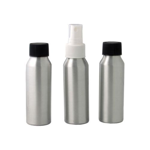 Set de 3 flacons de voyage aluminium, Objet personnalisable, comité social économique