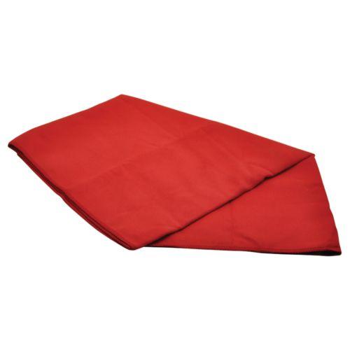 Serviette ultra séchante 'Cham' (M), rouge, Objet personnalisable, comité social économique
