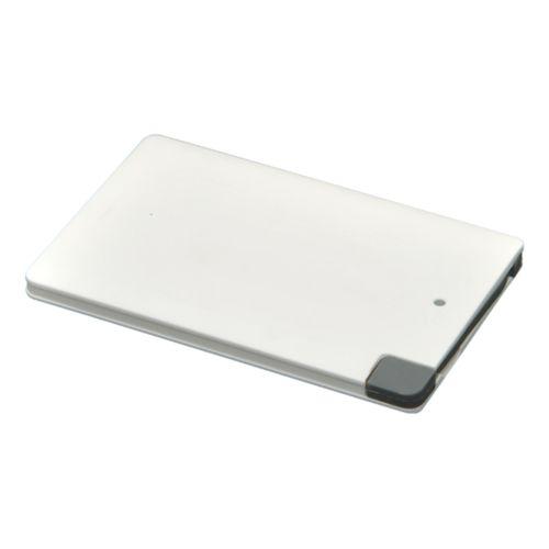 Chargeur nomade P2500, blanc, câble intégré