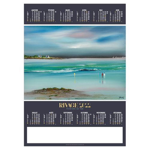 POSTER RIVAGE 2022 500 x 700 mm