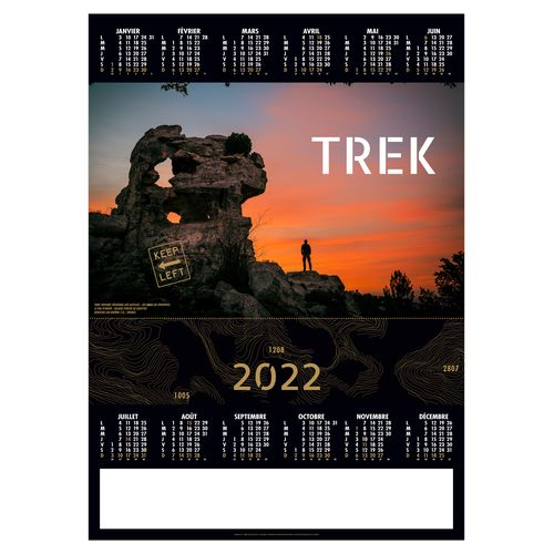 POSTER TREK 2022 500 x 700 mm