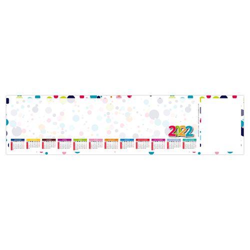 SOUS-MAIN CLAVIER SMC RONDO 2022 445 x 110 mm 25 feuillets Avec grille