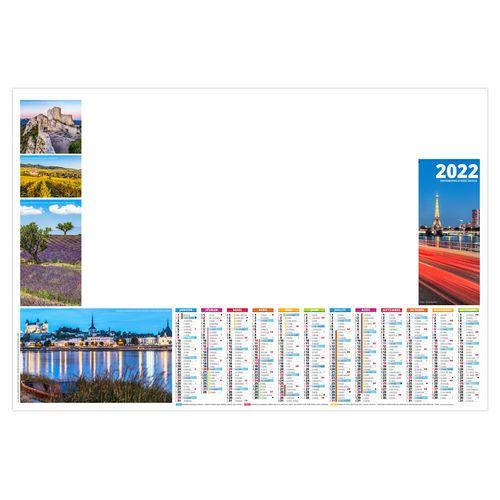 SOUS-MAIN SM JULIETTE 2022 600 x 420 mm 25 feuillets Avec grille