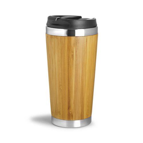 Mug isotherme leakproof 410 ml WOOD YOU