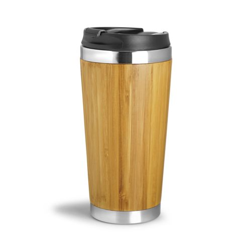 Mug isotherme leakproof 410 ml WOOD YOU