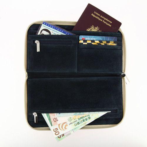 Portefeuille de voyage, Objet personnalisable, comité social économique
