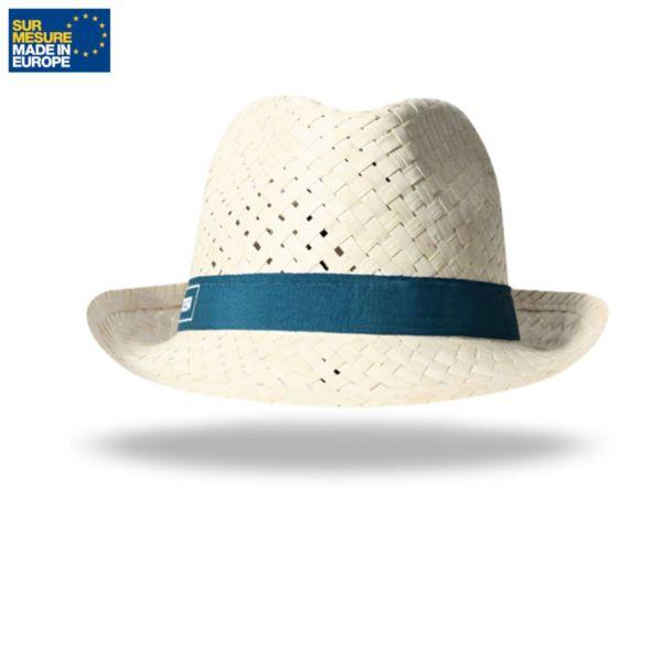 Chapeau paille blanche DOULOS