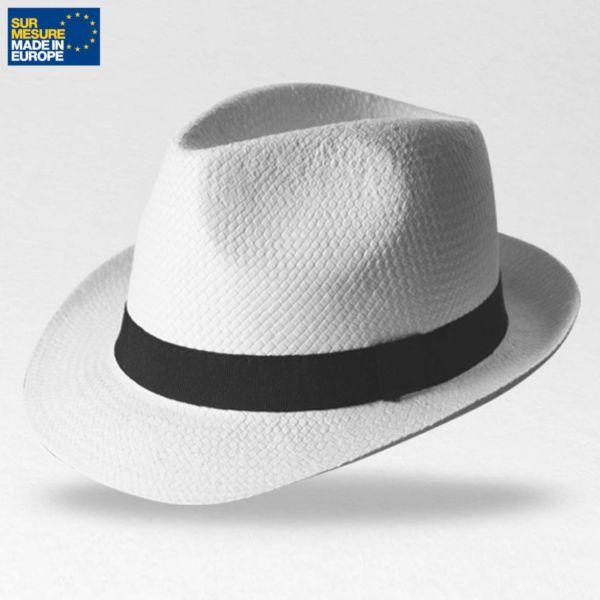 Chapeau en papier blanc DOULOS, Objet personnalisable, comité social économique